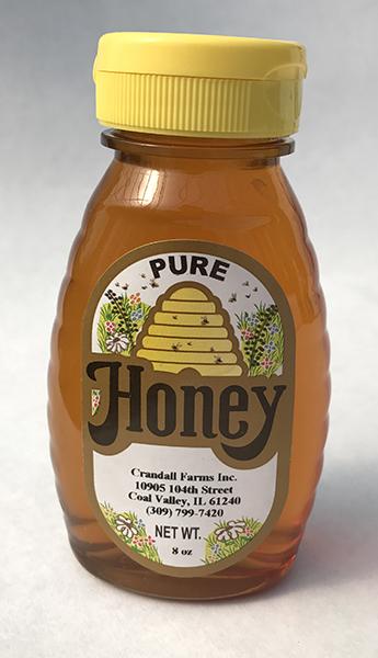 8oz. squeeze honey